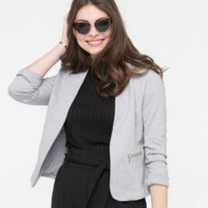 Brand New Ricki's Grey Open Blazer W. Pockets